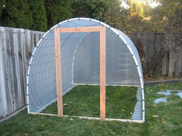 How To Build A Greenhouse 13 Pics