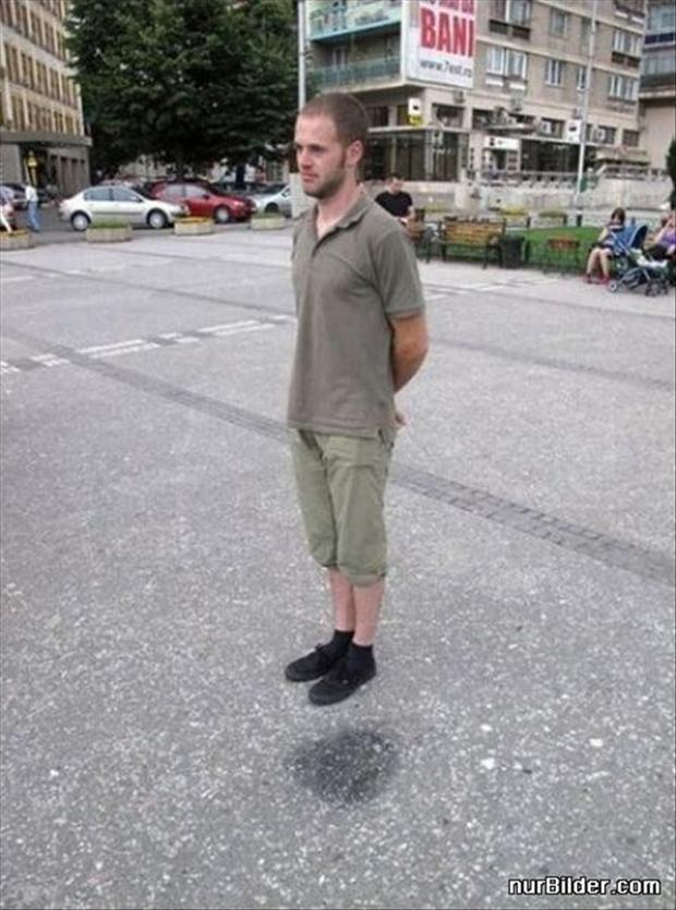 how to float in air, funny optical illusions