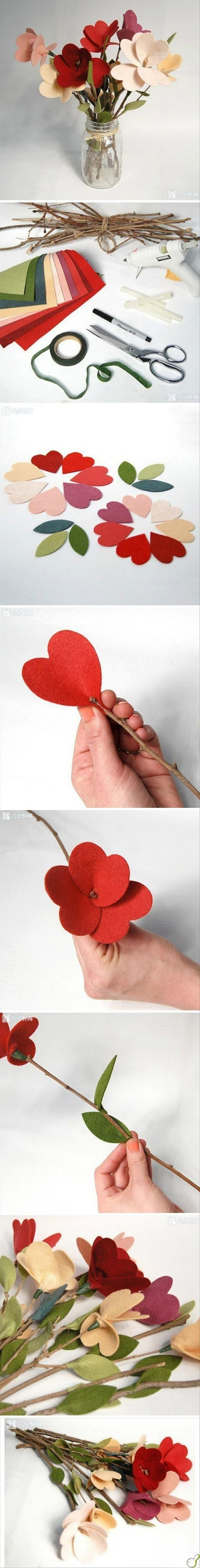 how to make fake flowers,