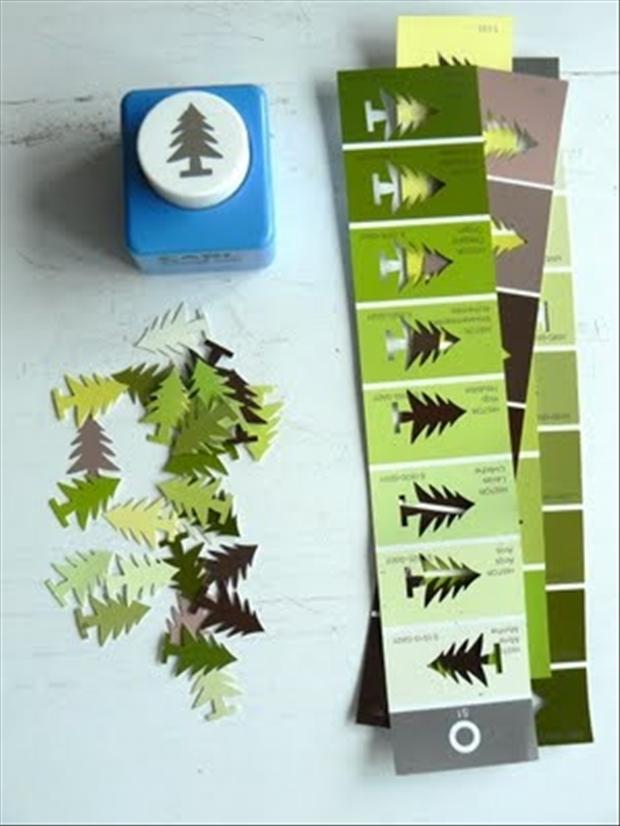 how to make trees crafts