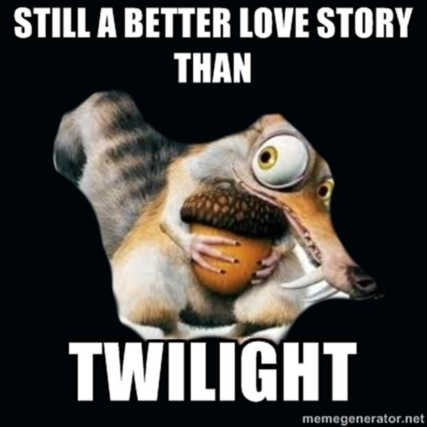 ice age, a better love story than twilight