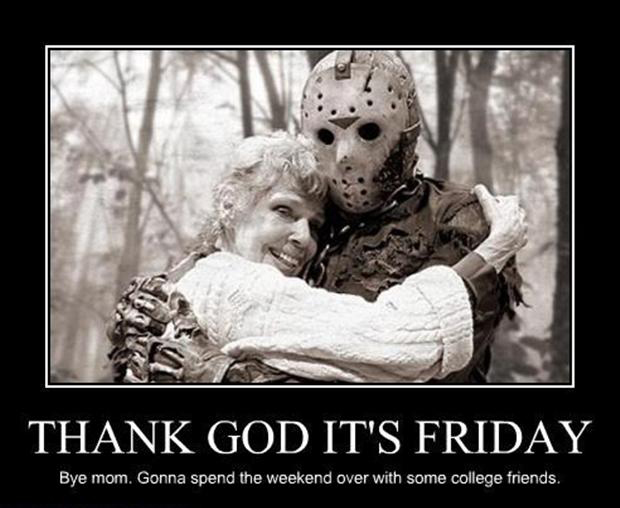 Its friday funny friday the 13th