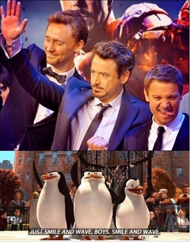 just smile and wave boys, funny pictures