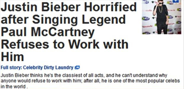 justin bieber is denied by paul to work with him