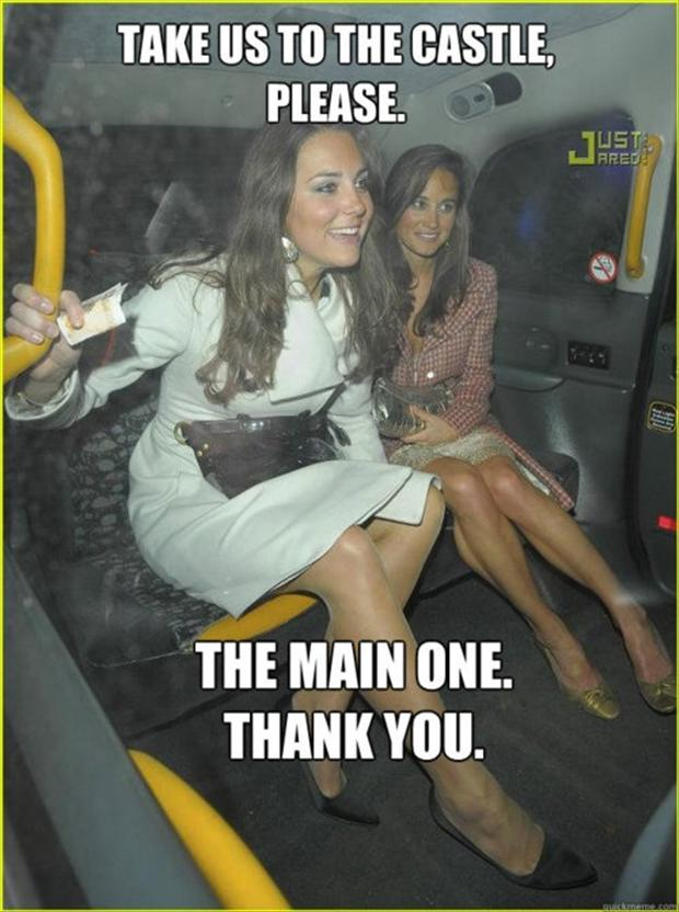 kate middleton, princess, funny pictures