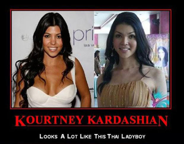 kourtney kardashian, funny demotivational posters
