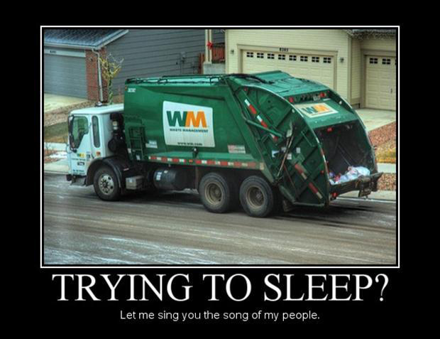 let me sing you the song of my people, garbage man