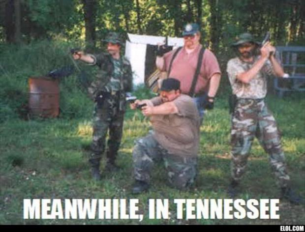 meanwhile in tennessee