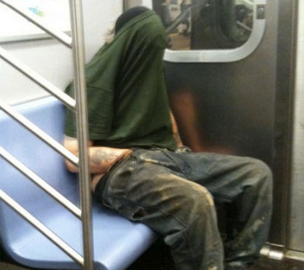 meanwhile on the subway thumb