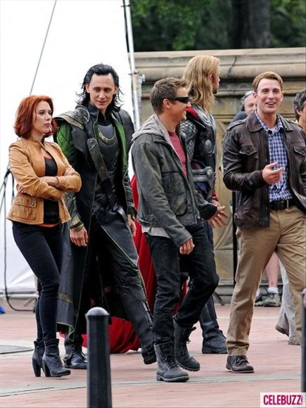 members of the avengers