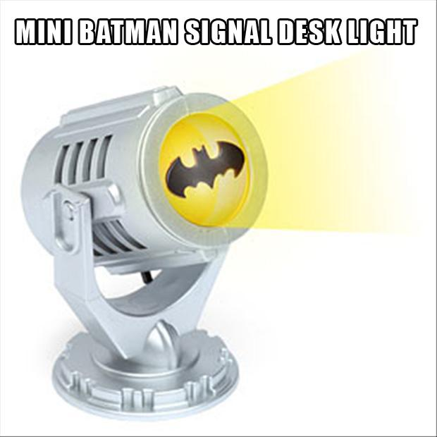 mini batman bat signal, stocking stuffers