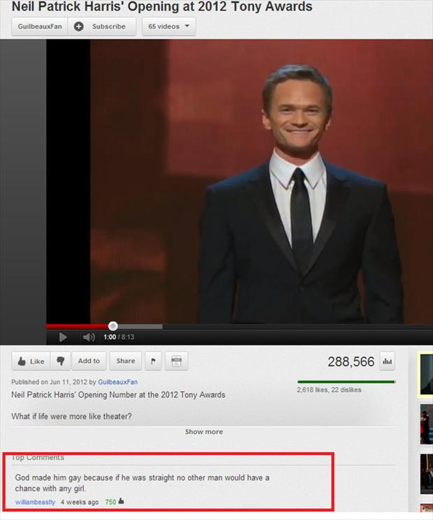 neil patrick harris, funny youtube quotes