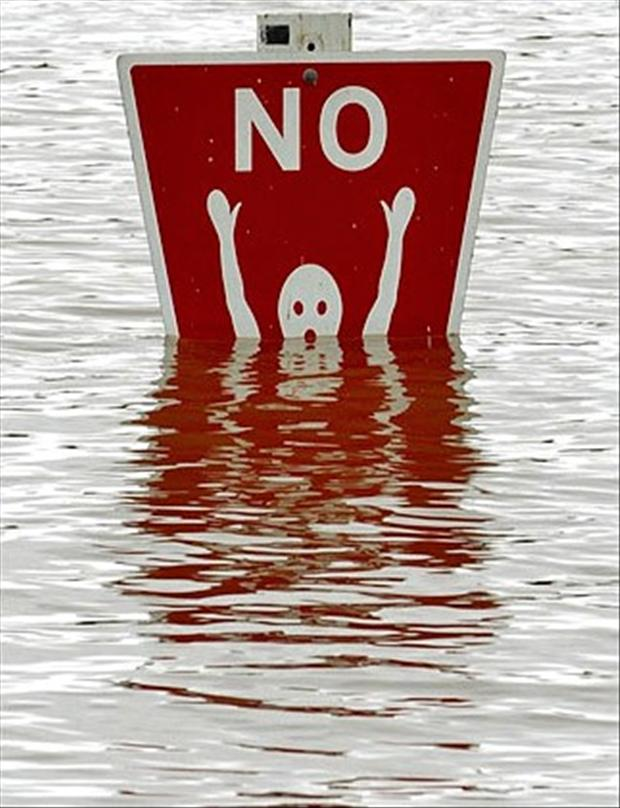 no swimming sign, funny