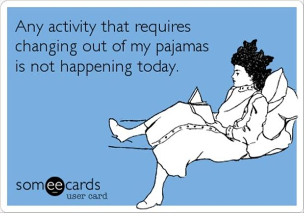 pajamas, funny quotes