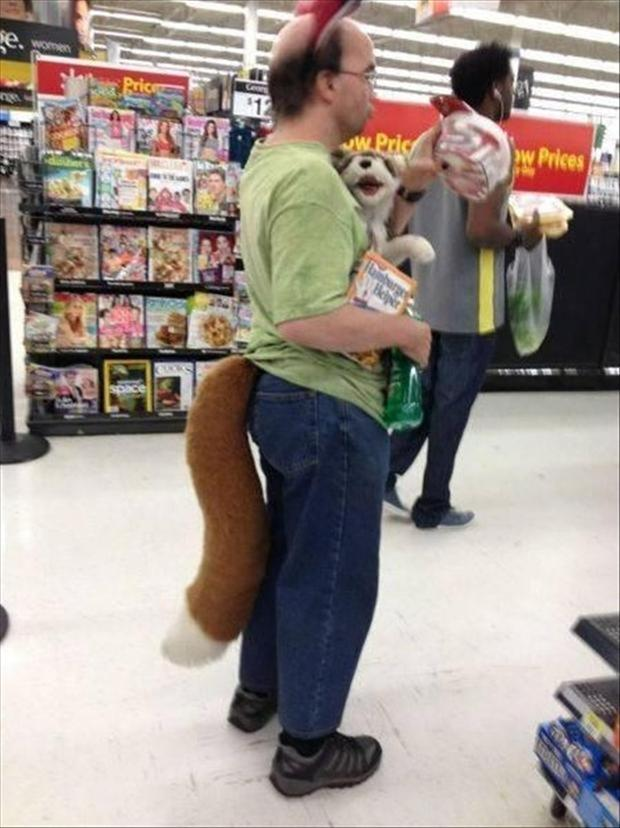 people of wal mart, guy with furry tail