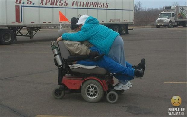 people of wal mart, parking lot fail