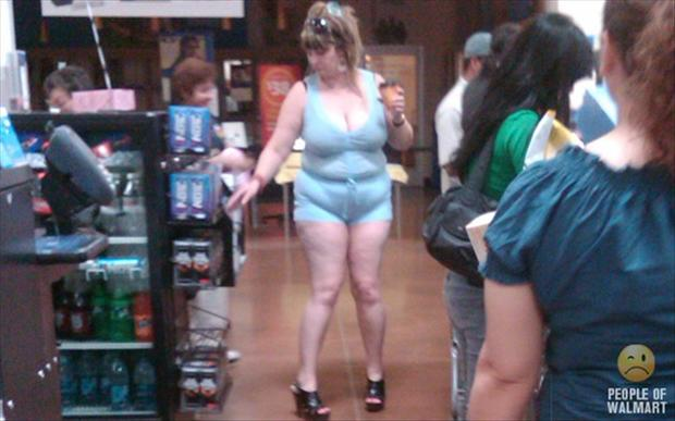 people of wal mart, woman in tight clothes