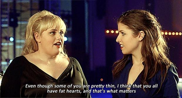 Pitch Perfect, Seeking Amy, Dinner Parties, Rebel Wilson, Fatheart ...