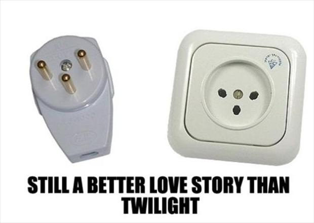 plugin outlet, still a better love story than twilight