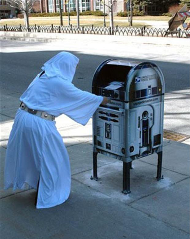 princess leia, r2d2, funny pictures