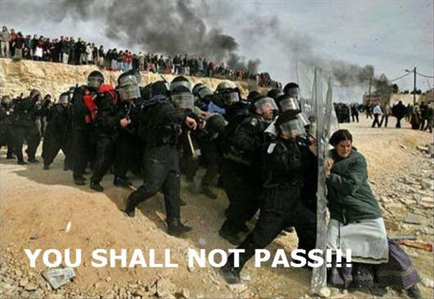 riot, you shall not pass