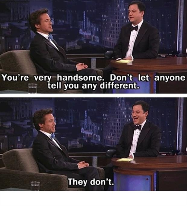 robert downey jr, funny quotes