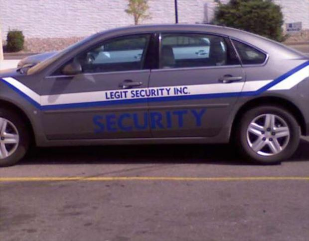 security, seems legit