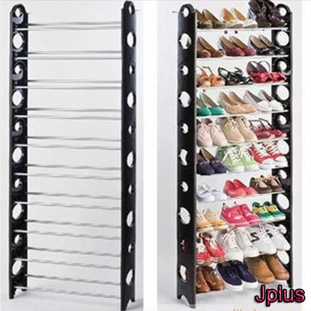 simple shoe shelf