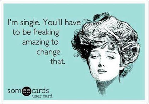 single, funny quotes