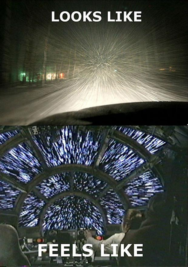 snow fall, what it looks like, what it feels like