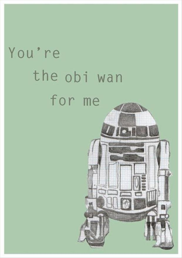 star wars valentines day card, funny pictures