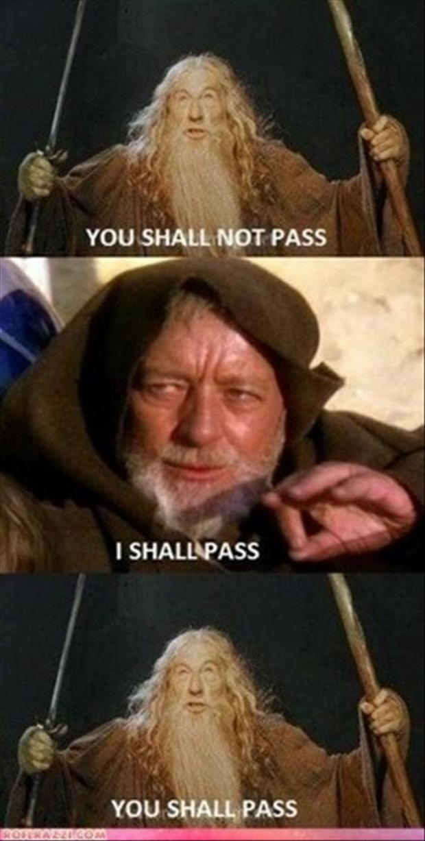 star wars, you shall not pass