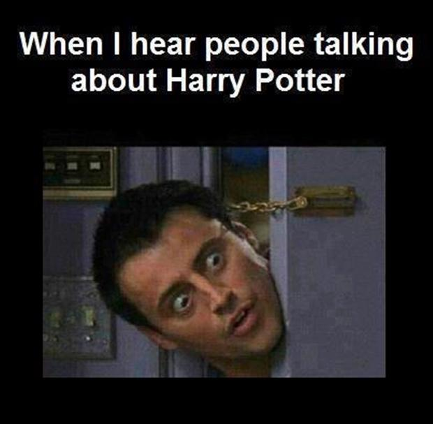 talking about harry potter, funny pictures