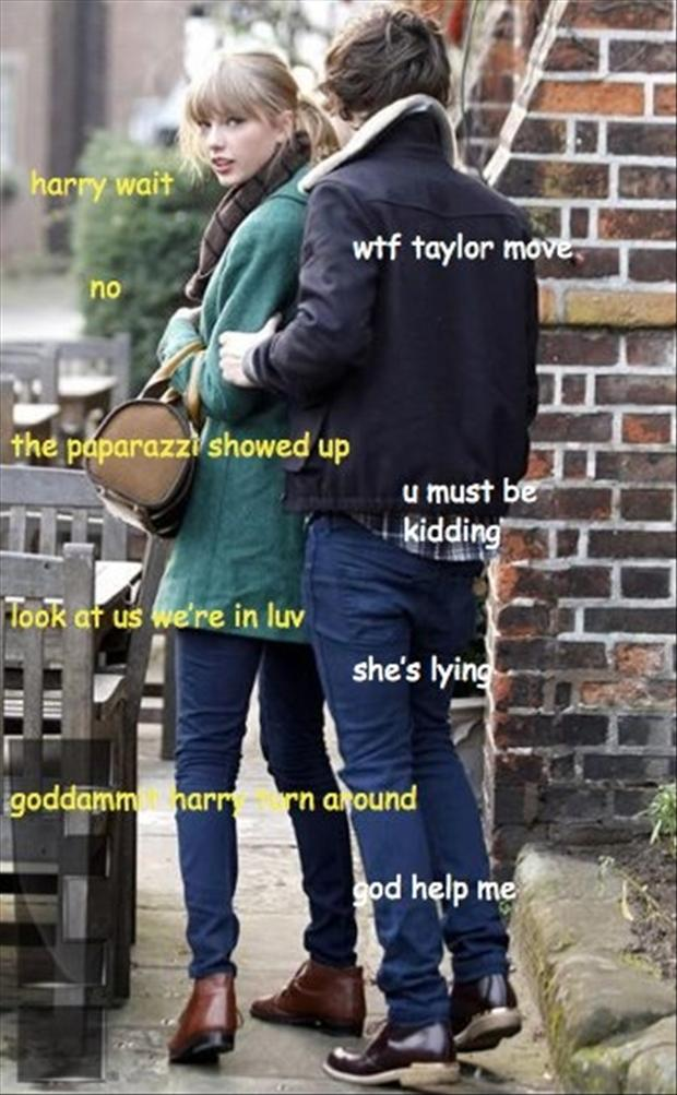 taylor swift and harry, funny pictures