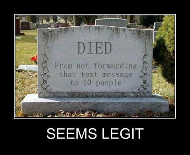 text messages, seems legit