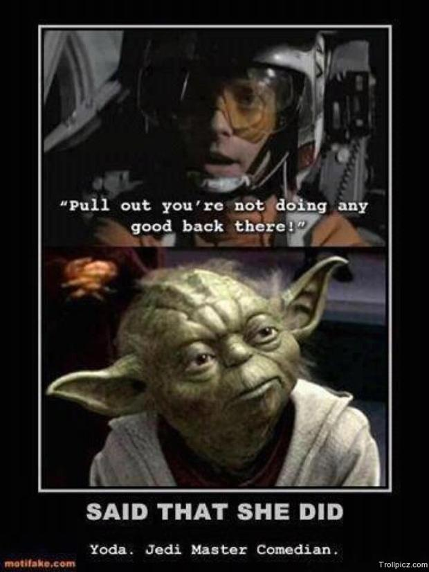 thats what she said, yoda, luke, star wars