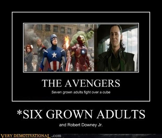 the avengers, demotivational posters