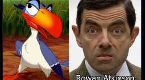Celebrity Voices Behind The Disney Characters – 37 Pics