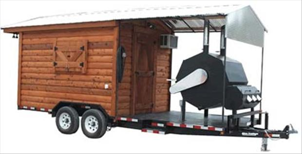 trailer and bbq