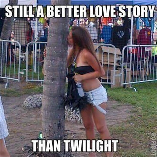 tree hugger, still a better love story than twilight