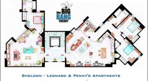 Floor Plans To Some Of Your Favorite T.V. Shows &#8211; 6 Pics