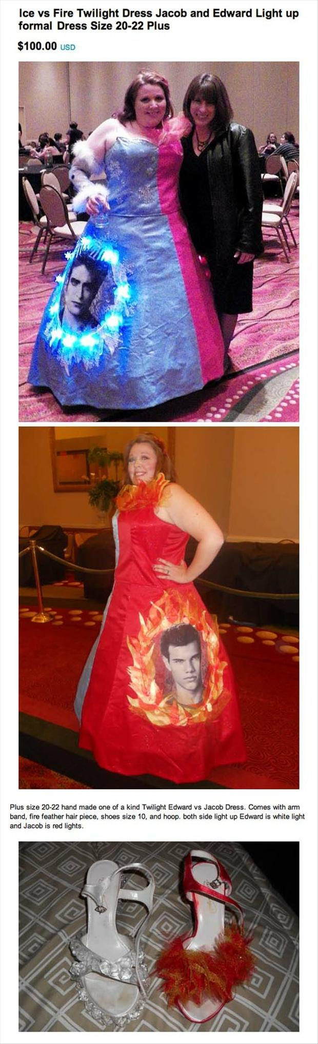 twilight prom dresses, with shoes, wtf dresses