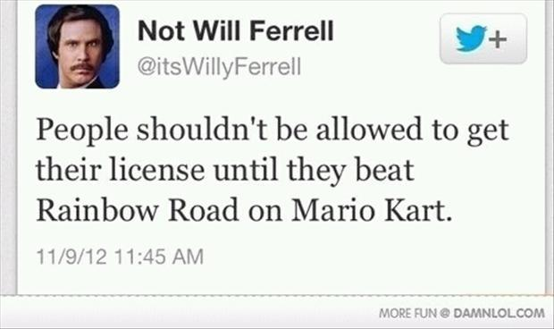 twitter quotes, mario kart