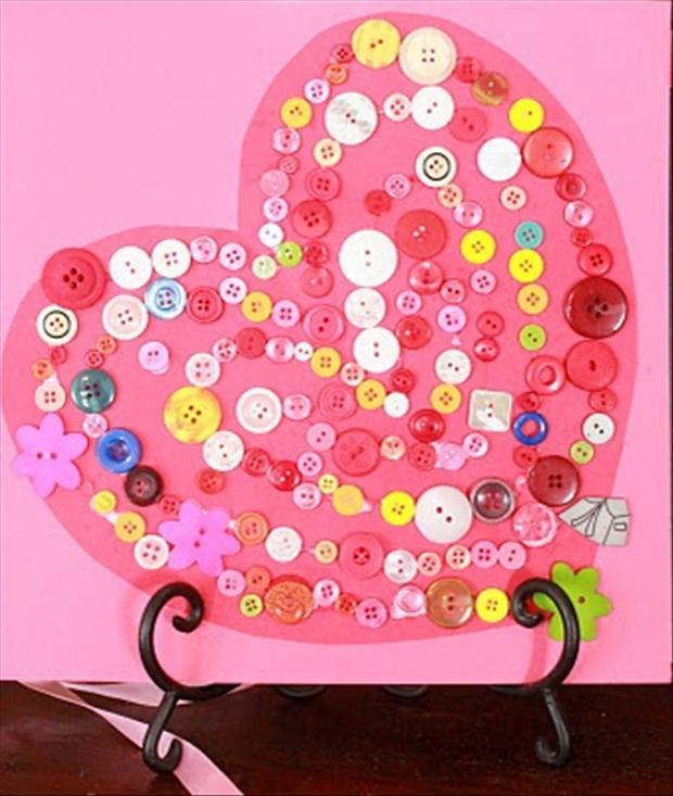 valentines day crafts, heart