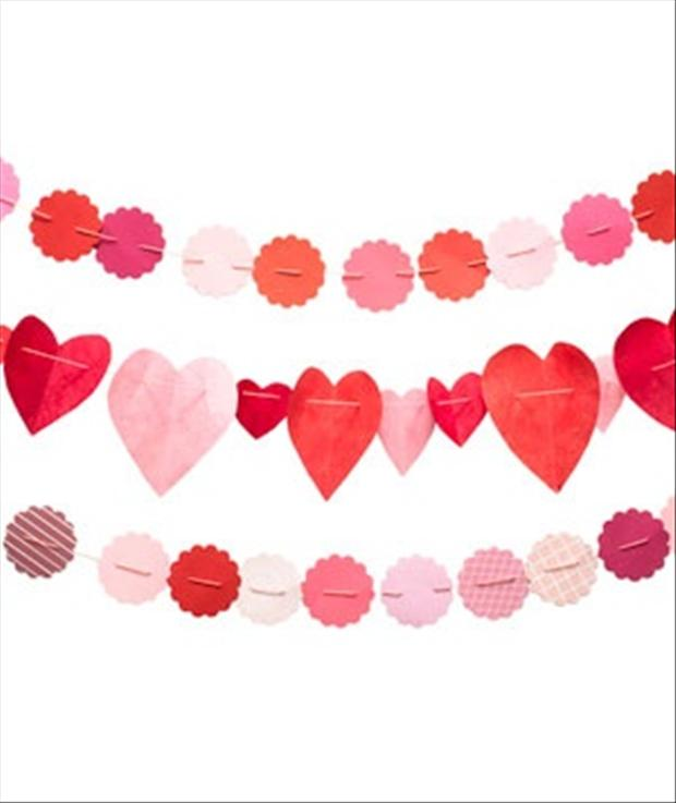 valentines day heart shaped cut outs