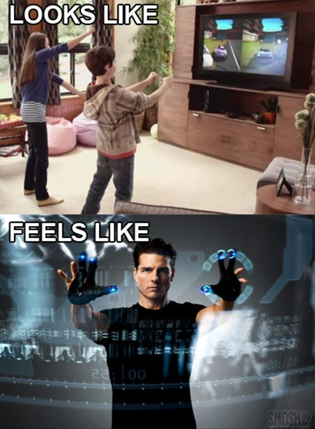 video games, what it looks like, what it feels like,