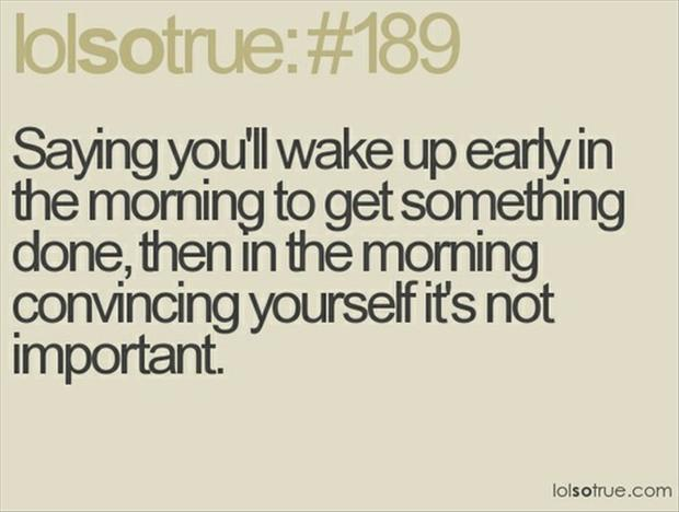 wake up early, funny pictures