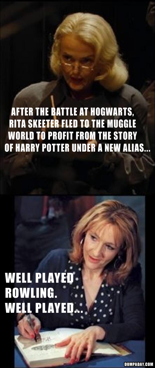 well played Rowling, well played