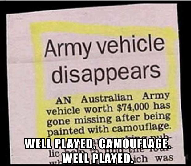 well played army