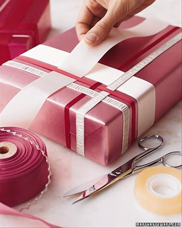 wrap gifts creatively